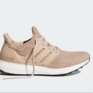 Adidas pearl ash ultra boost running sneaker shoes